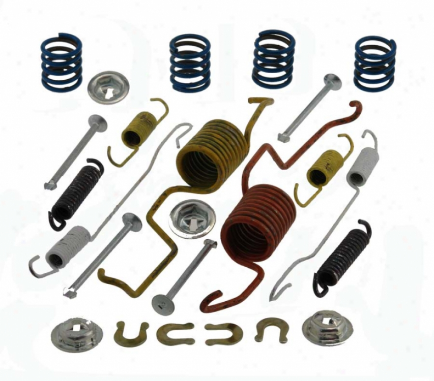 Carlson Quality Brake Parts 17432 Bmw Brake Hardware Kits