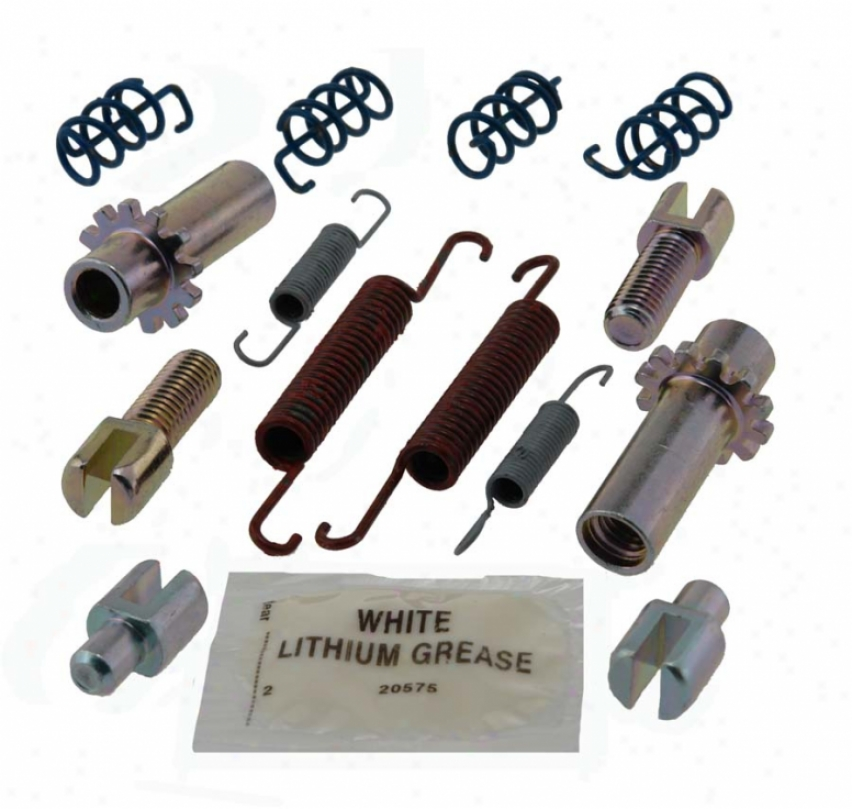 Carlson Quality Brake Parts 17437 Volv Brake Hardware Kits