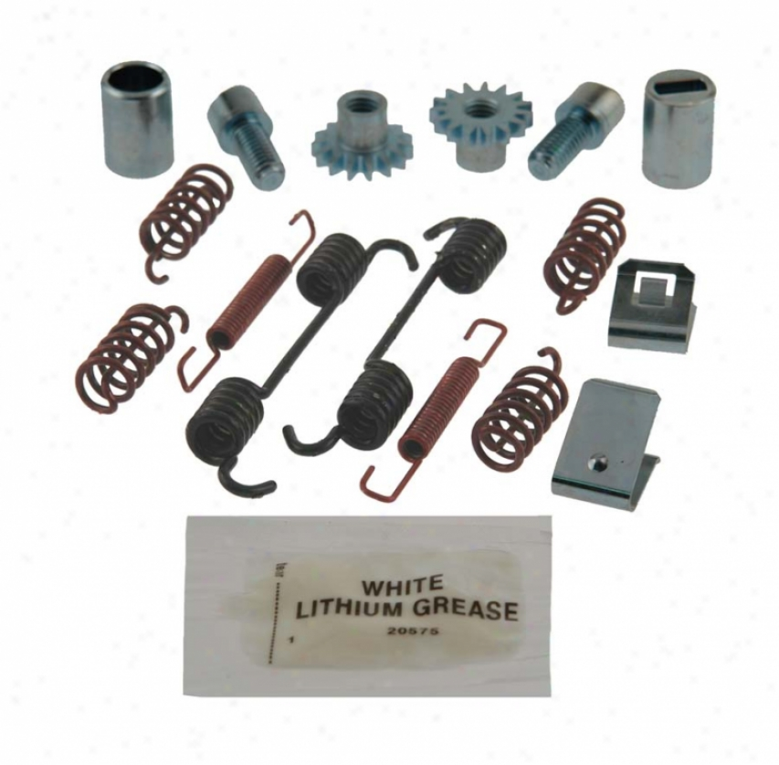 Carlson Quality Brake Parts 17442 Toyota Brake Hardware Kits