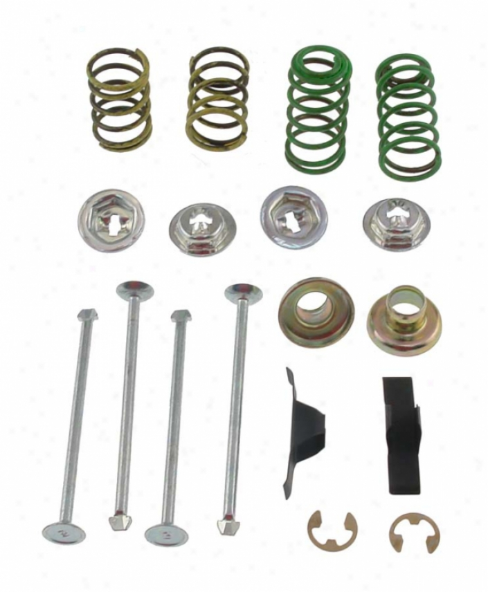 Carlson Quality Brake Parts H40742 Gmc Parts