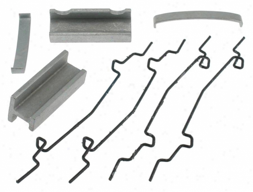Carlson Quality Brake Parts H5594 Stream Md Trk Brake Hardware Kits