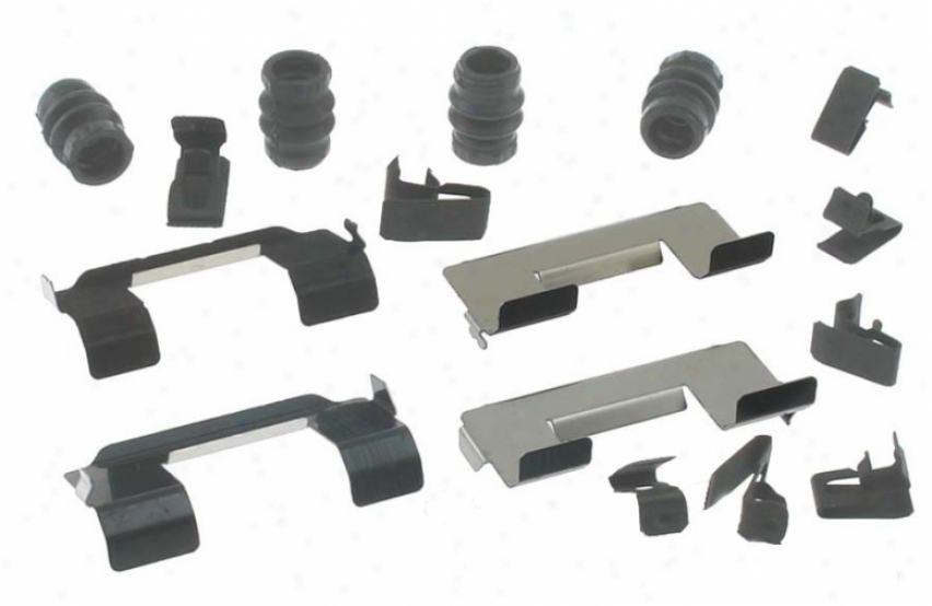 Carlson Quality Brake Quarters H5657q Saturn Brake Hardware Kits