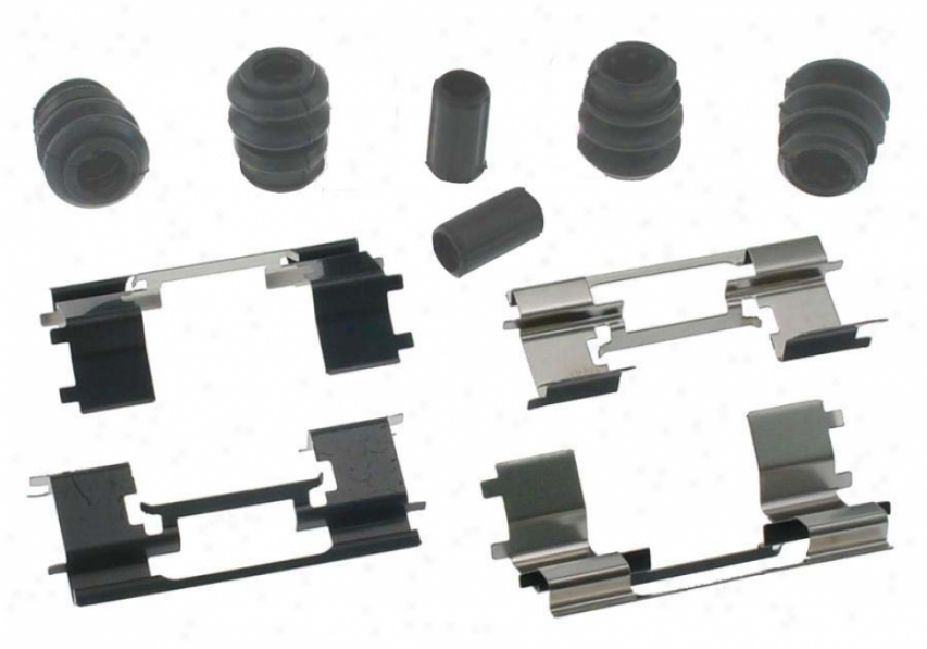 Carlson Quality Brake aPrts H5681q Jeep Thicket Hardwafe Kits