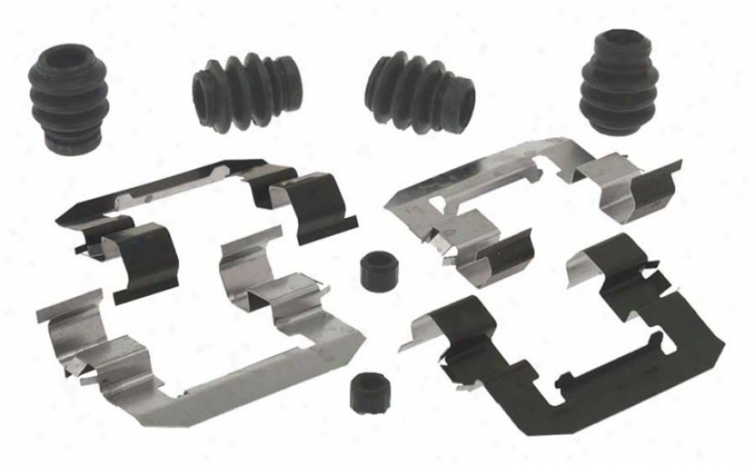 Carlson Quality Brake Parts H5814q Dodge Brake Hardware Kits