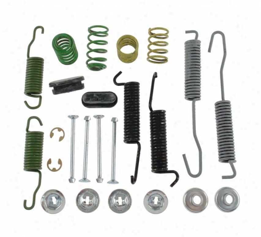 Carlson Quality Brake Parts H7018 Chrysler Brake Hardware Kits