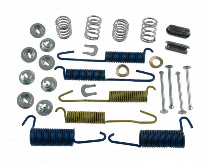 Carlson Quality Brake Parts H7102 Chevrolet Brake Hardware Kits