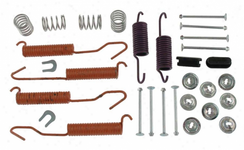 Carlson Quality Brake Parts H7139 Ford Brake Hardware Kits