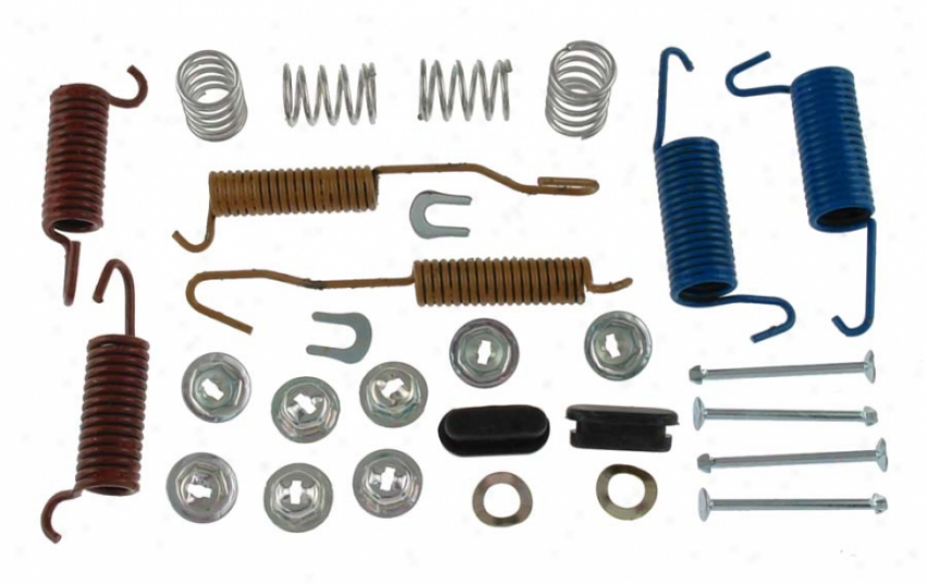 Carlson Quality Brake Parts H7144 Ford Brake Hardware Kits