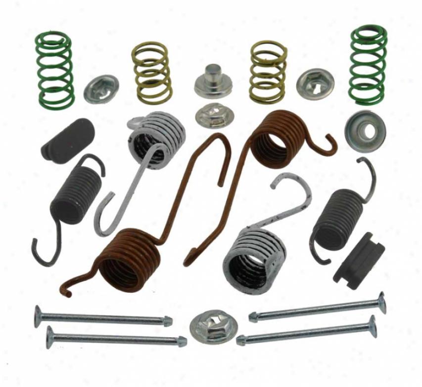 Carlson Quality Brake Parts H7150 Cadillac Brake Hardware Kits