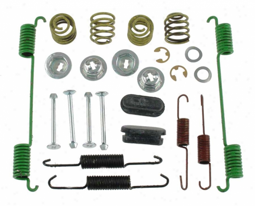 Carlson Quality Brake Parts H7264 Jeep Brake Hardware Kits
