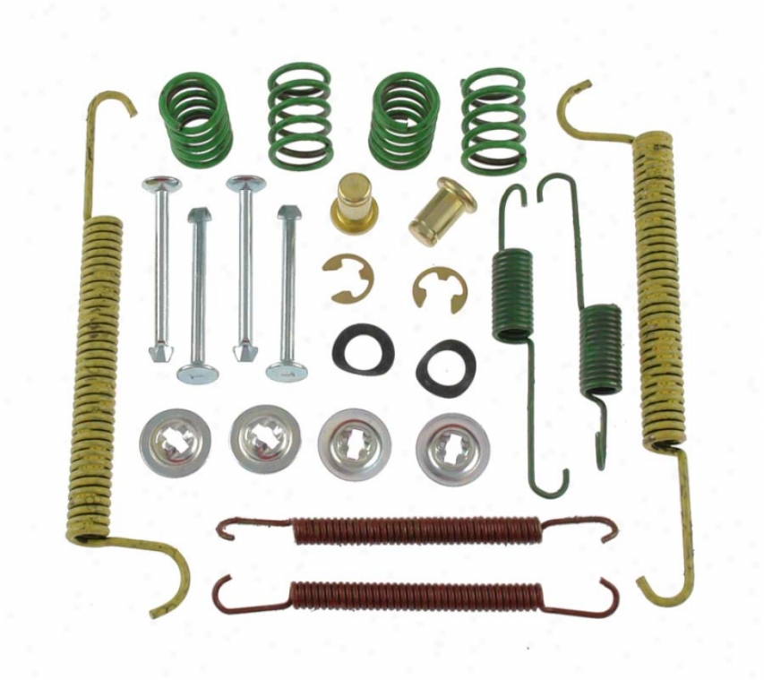 Carlson Quality Brake Parts H7270 Pontiac Brake Hardware Kits