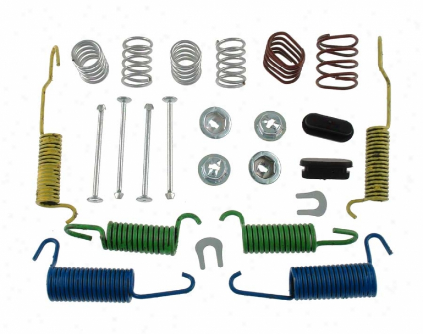 Carlson Quality Brake Parts H7279 Ford Brake Hardware Kits