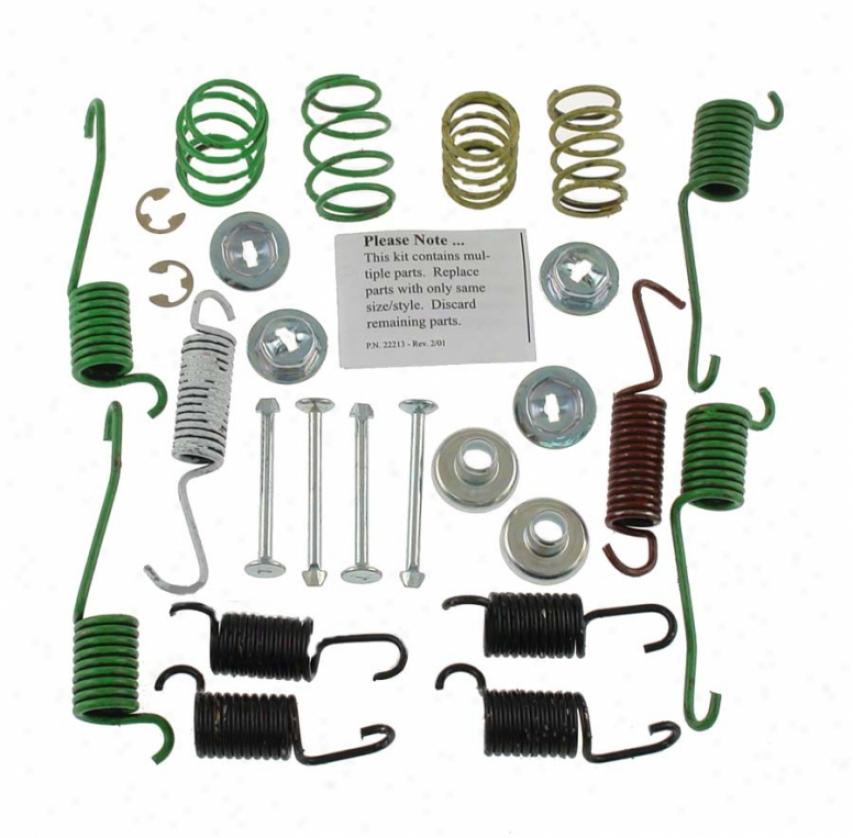 Carlson Quality Thicket Parts H7281 Saturn Brake Hardware Kits