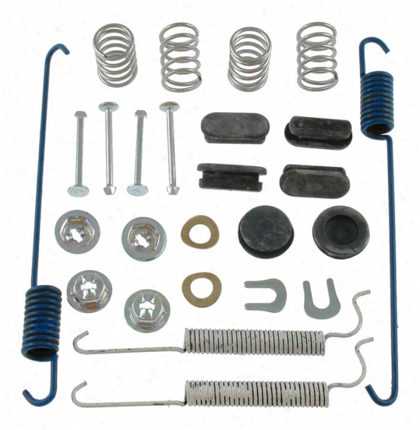 Carlson Quality Brake Parts H7285 Pontiac Thicket Hardware Kits