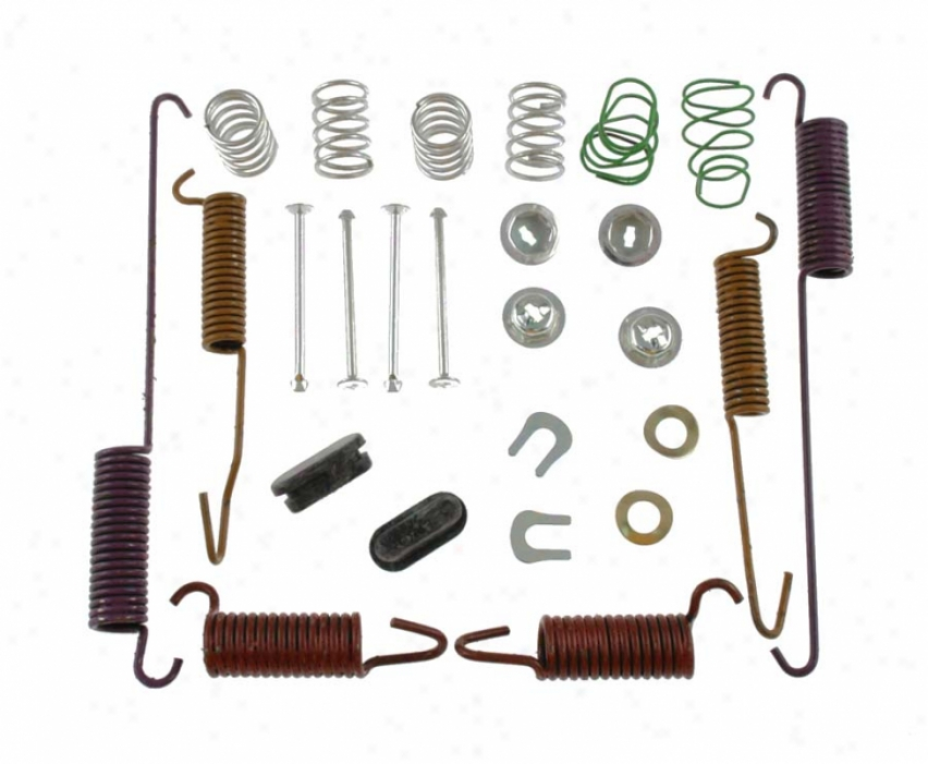 Carlson Quality Brake Parts H7298 Mercury Brake Hrdware Kits