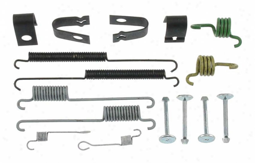 Carlson Quality Brake Quarters H7314 Wade through Brake Hardware Kits