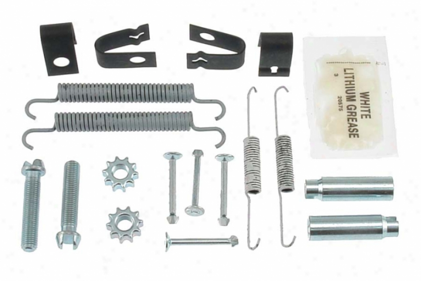 Carlson Quality Braek Parts H7315 Pontic Brake Hardware Kits