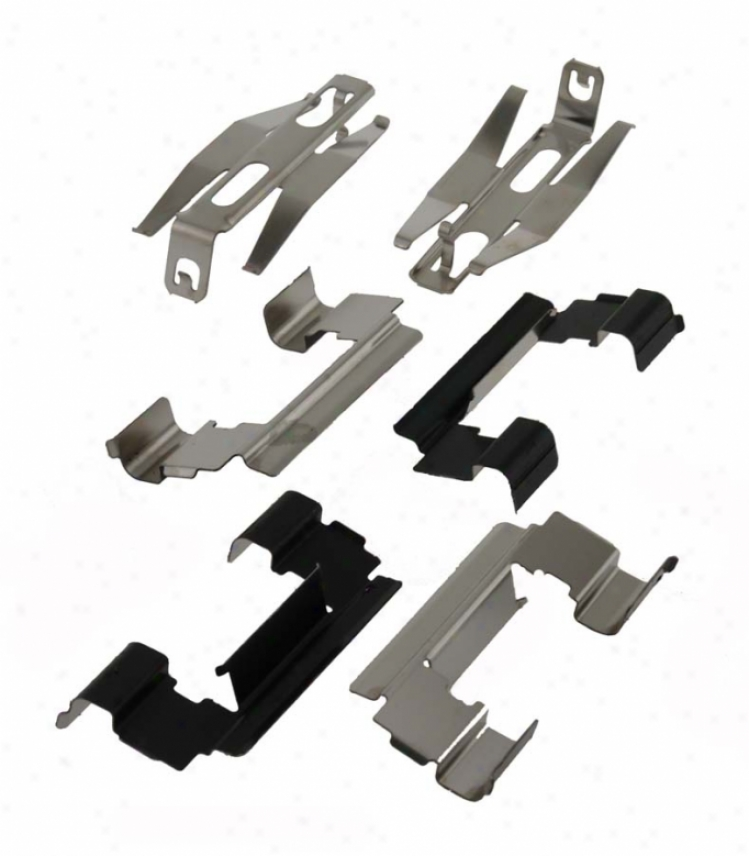 Carlson Quality Brse Parts P731 Chevrolet Brake Hardware Kits