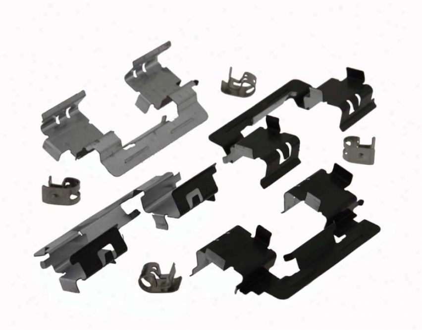 Carlson Quality Brake Paarts P906t Toyota Brake Hardware Kits