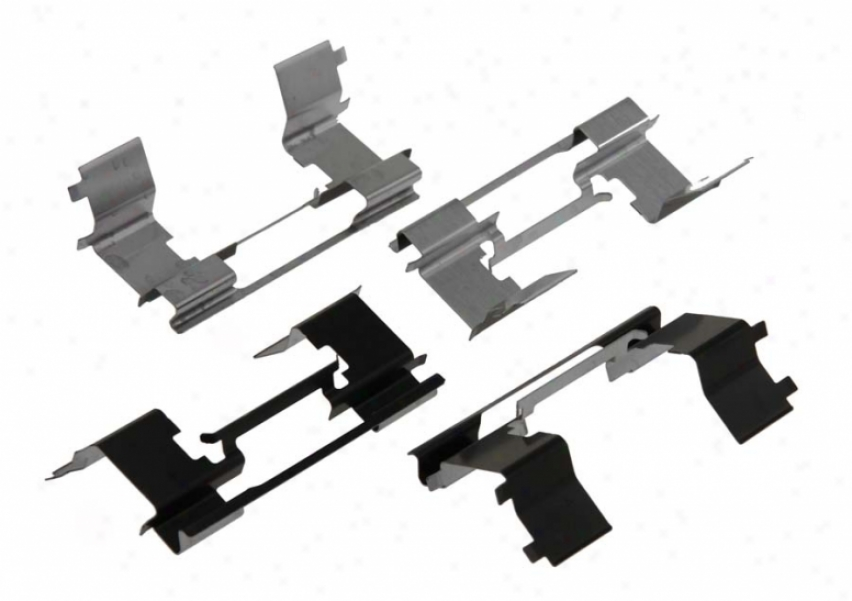 Carlson Quality Brake Parts P931 Lincoln Brake Hardware Kits