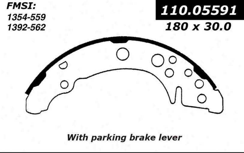 Centric Parts 111.05591 Subaru Parts