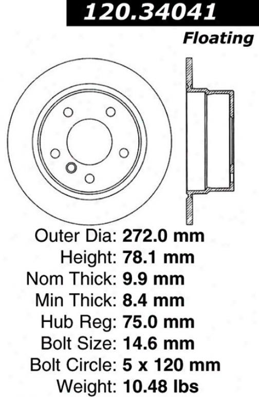 Crntrric Parts 120.34041 Bmw Parts
