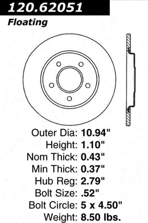 Centric Parts 120.62051 Chevrolet Parts