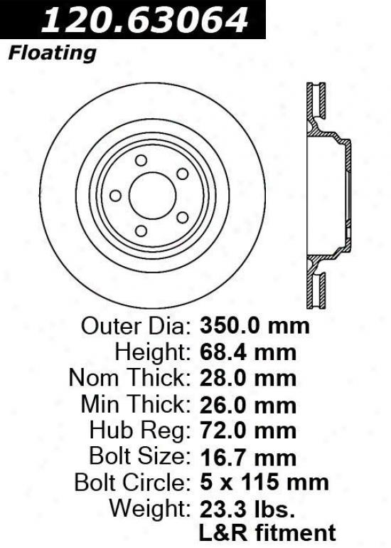 Centric Parts 120.63064 Dodge Parts