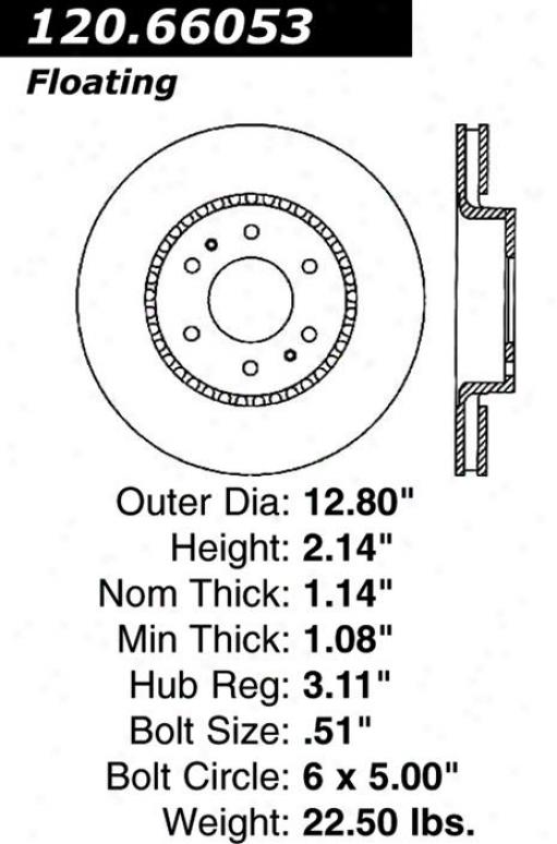 Centric Parts 120.66053 Chevrolet Parts