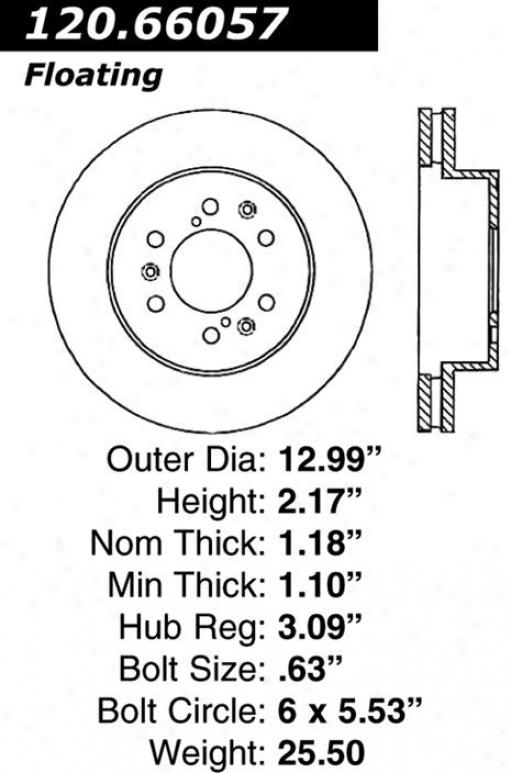 Centric Parts 120.66057 Cjevrolet Disc Brake Rotor Hub