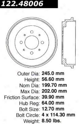 Centric Parts 122.48006 Geo Parts