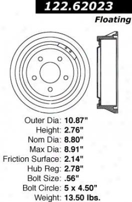 Centric Parts 122.62023 Buick Parts