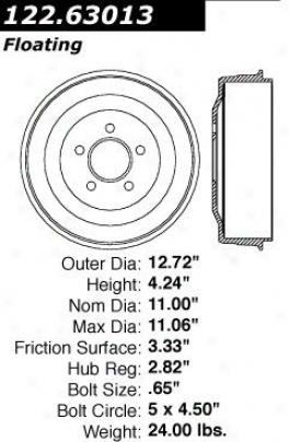 Centric Parts 122.63013 Amc Parts
