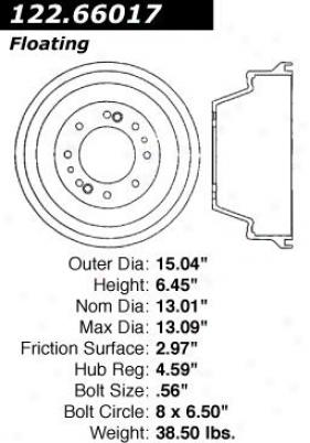 Cdntri Parts 122.66017 Chevrolet Parts