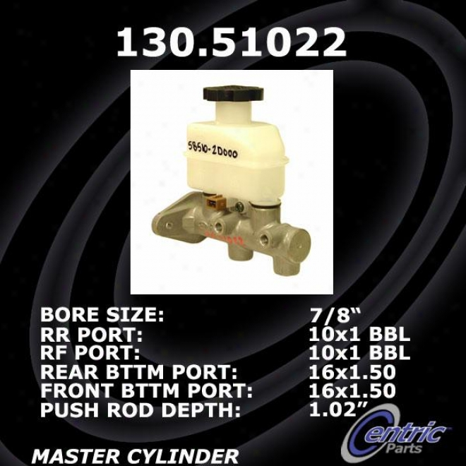 Centric Talents 130.51022 Kia Brake Master Cylinders
