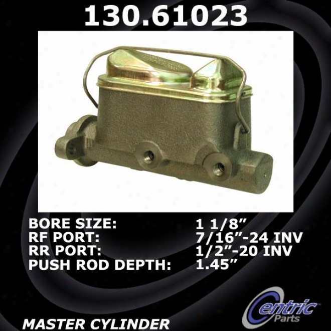 Centric Parts 130.61023 Ford Parts