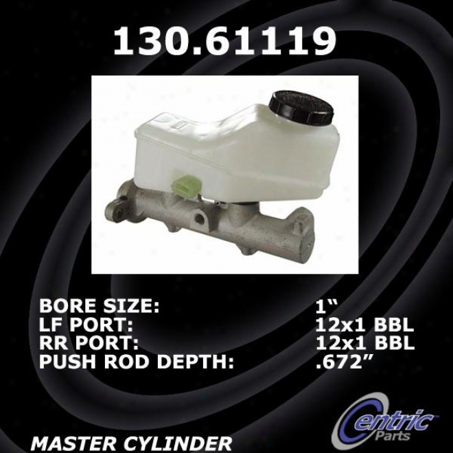 Centric Parts 130.61119 Wading-place Brake Master Cylinders