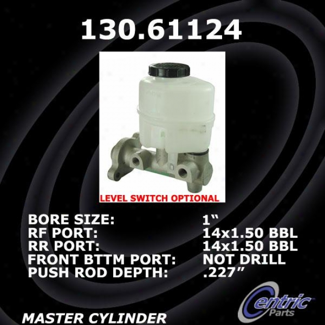 Centric Parts 130.61124 Ford Brake Master Cylinders