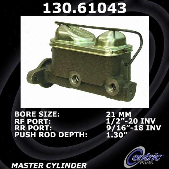 Centric Parts 131.61043 Mercury Brake Master Cylinders
