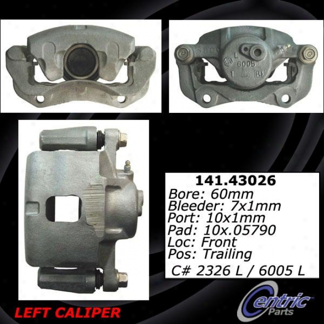 Centric Parts 141.43026 Geo Brake Calipers