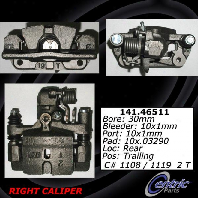 Centric Parts 141.46512 Mitsubishi Parts