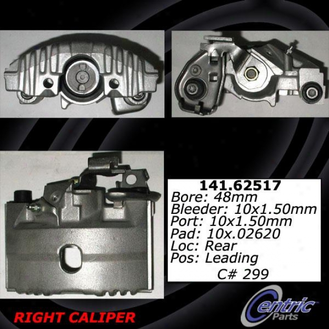 Centric Quarters 141.62518 Cadillac Parts
