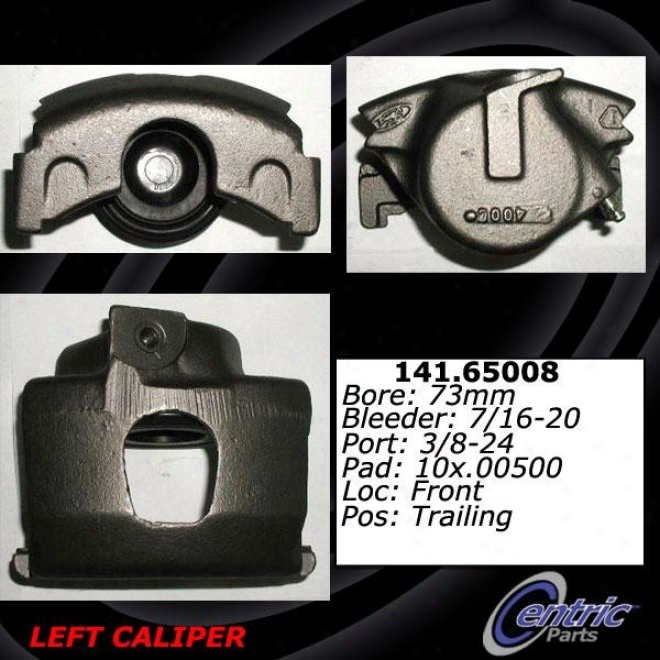 Centric Parfs 141.65008 Ford Parts