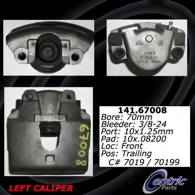 Centric Parts 141.67008 Dodge Talents
