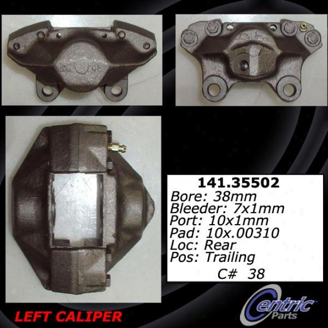 Centric Parts 141.35502 Mercedes-benz Parts