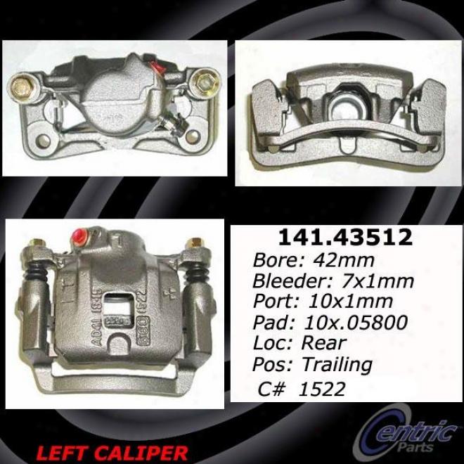 Centric Parts 142.43512 Toyota Pqrts
