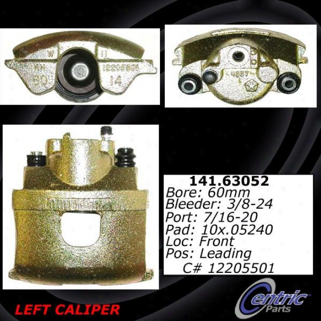 Centric Parts 142.63052 Dodge Quarters