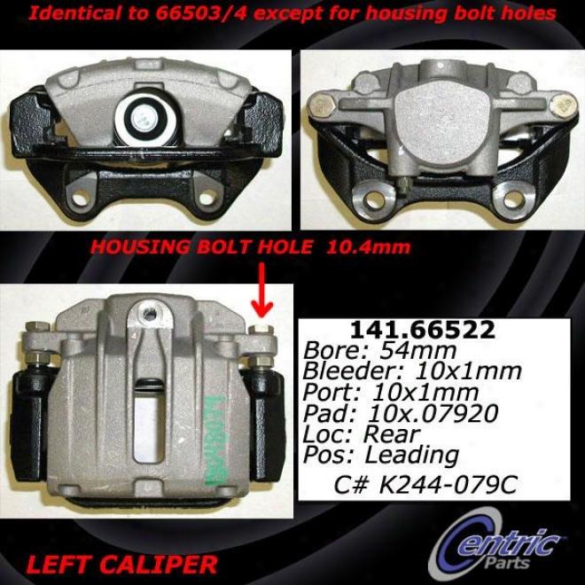 Centric Parts 142.66522 Chevrolet Parts