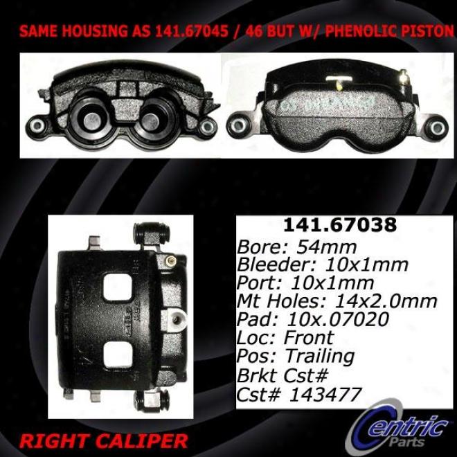 Centric Parts 142.67038 Dodge Parts
