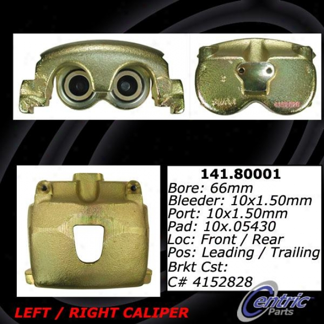 Centric Quarters 141.80001 Alfa Romeo Parts